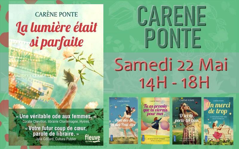 Dédicace - Carène Ponte