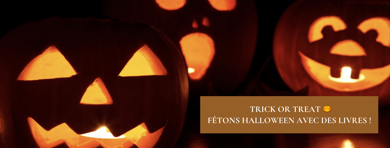 Trick or Treat 🎃 Fêtons Halloween avec des livres