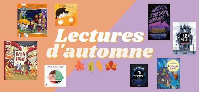 Lectures d'automne jeunesse