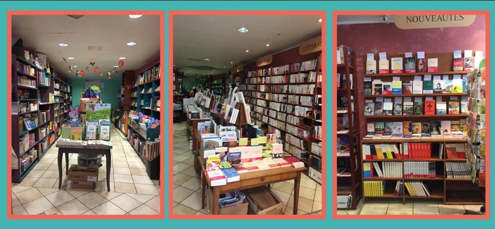 La librairie en images