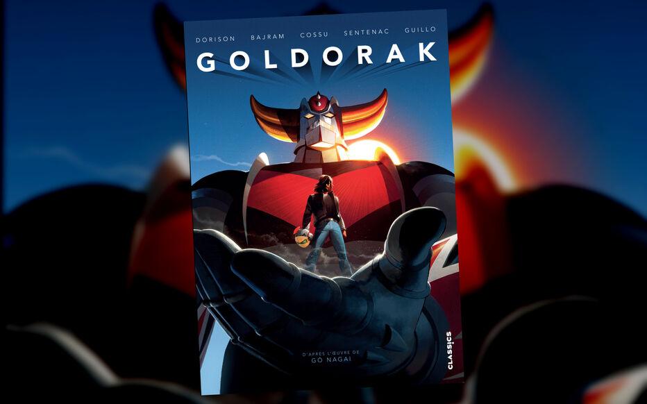Goldorak débarque en librairie !