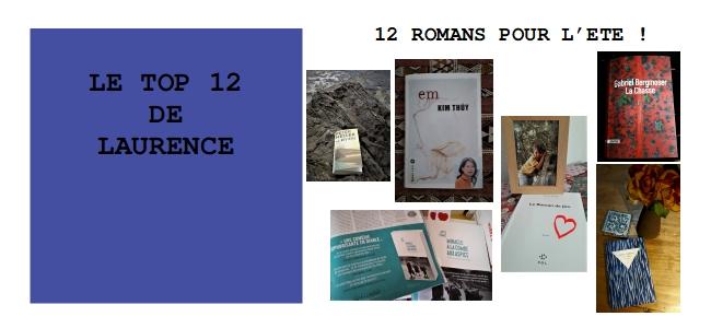 12 ROMANS INCONTOURNABLES !