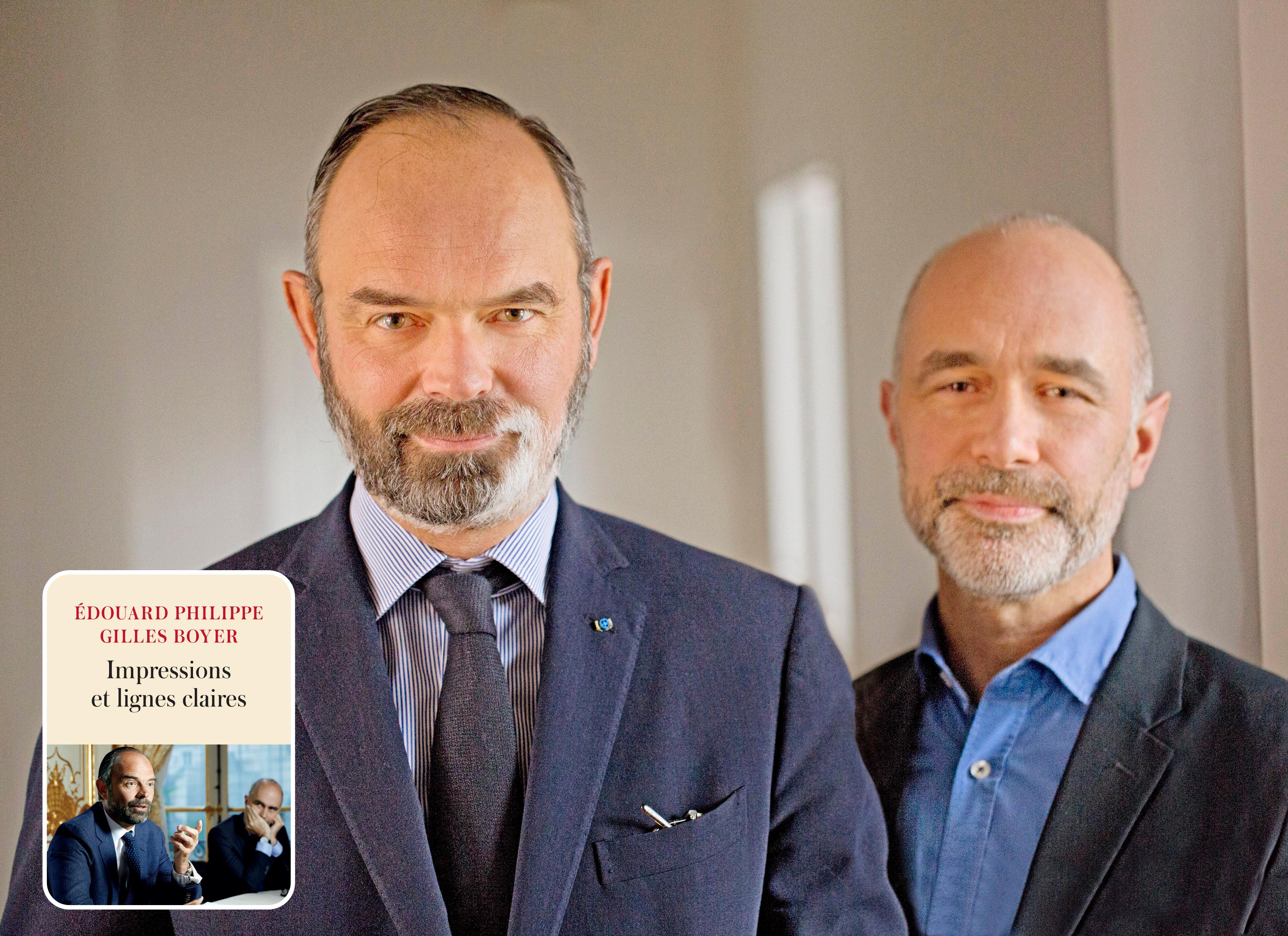 Dédicace Édouard Philippe et Gilles