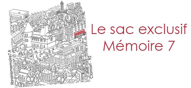 Le sac exclusif Mémoire 7