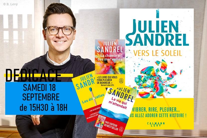 Dédicace - Julien Sandrel