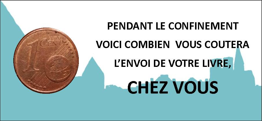 FRAIS D'ENVOI 0,01 € !