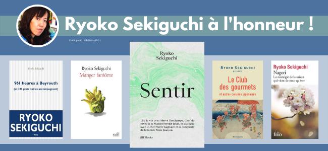 Une auteure à l'honneur : Ryōko Sekiguchi