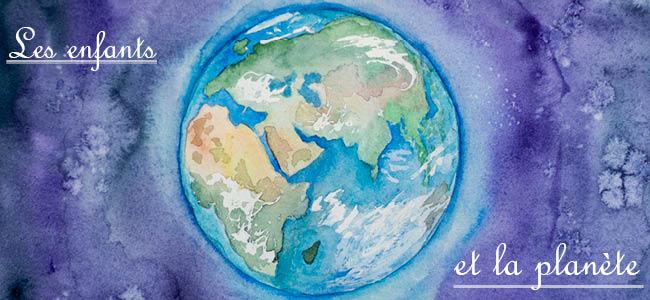 Les enfants et la planète