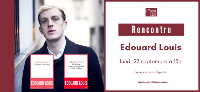 Rencontre avec Edouard Louis