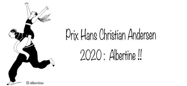 Albertine, prix Andersen 2020 !