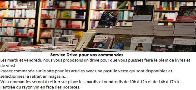 Service Drive pour vos commandes
