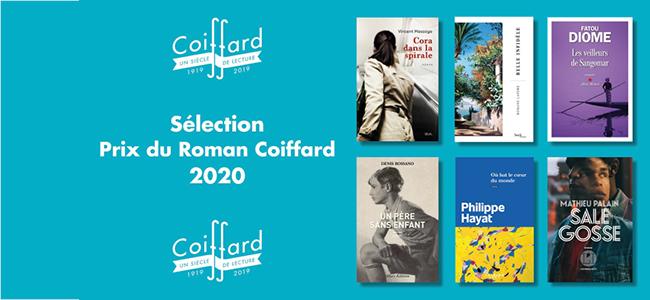 Le Prix du Roman Coiffard 2020