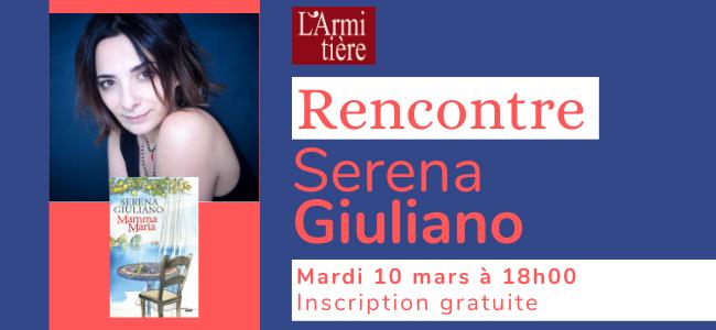 Rencontre avec Serena Giuliano