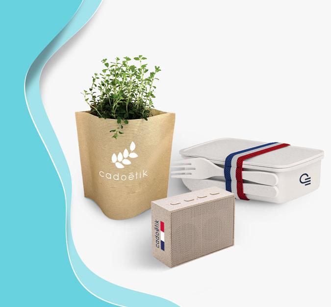 goodies en plastique végétal
