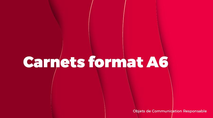 Univers - Carnets format A6 - Goodies responsables - Cadoetik