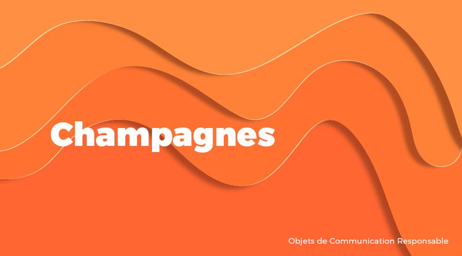 Univers - Champagnes - Goodies responsables - Cadoetik
