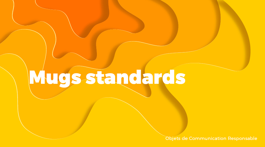 Univers - Mugs standards - Goodies responsables - Cadoetik