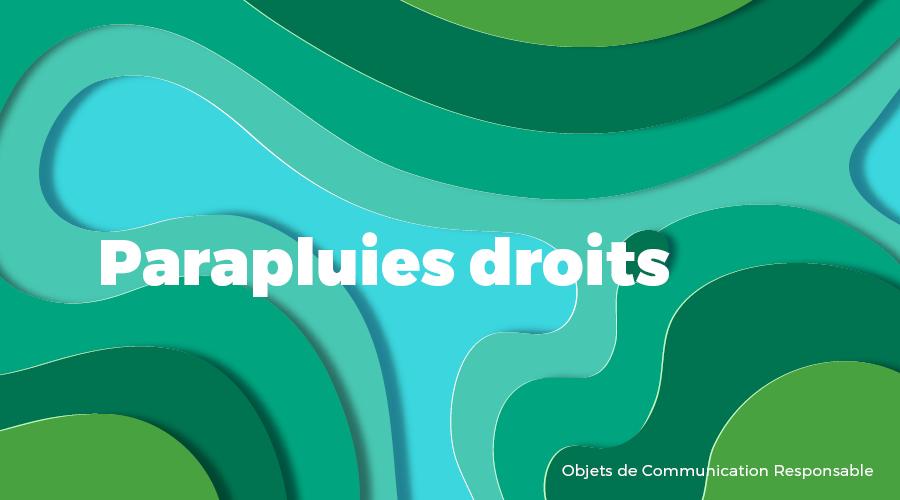 Univers - Parapluies droits - Goodies responsables - Cadoetik