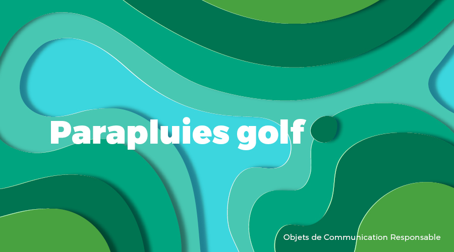 Univers - Parapluies golf - Goodies responsables - Cadoetik