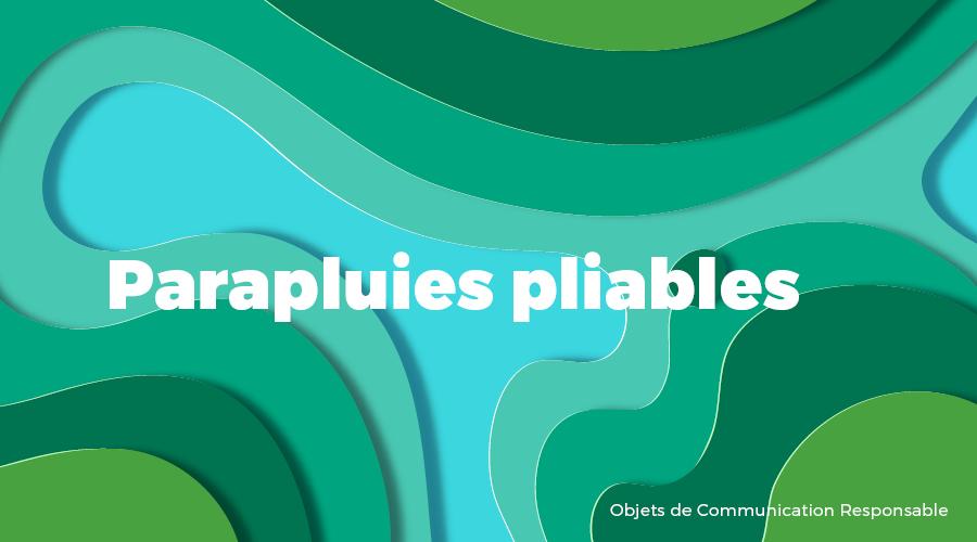 Univers - Parapluies pliables - Goodies responsables - Cadoetik