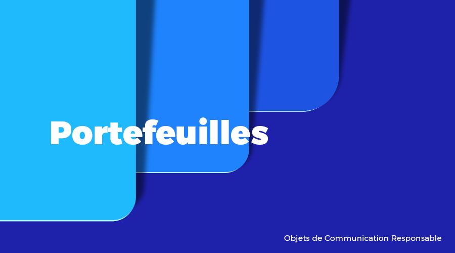 Univers - Portefeuilles - Goodies responsables - Cadoetik