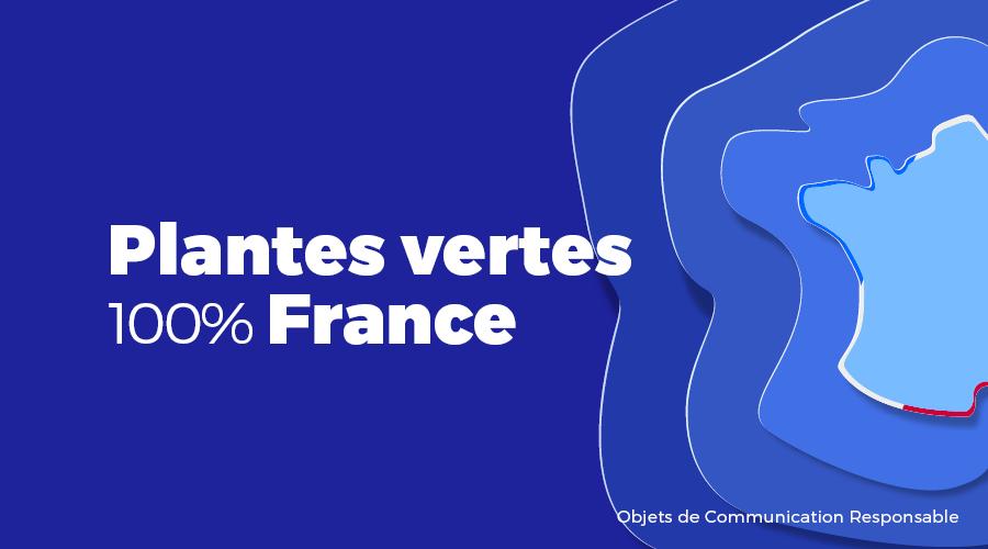 Univers - Plantes vertes 100% France - Goodies responsables - Cadoetik