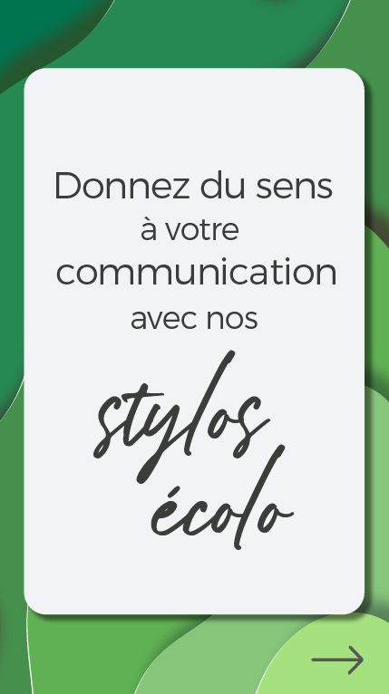 push selection stylos ecolos