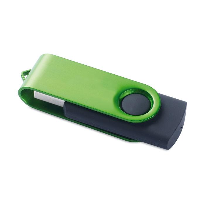 Clé USB publicitaire Rotodrive vert