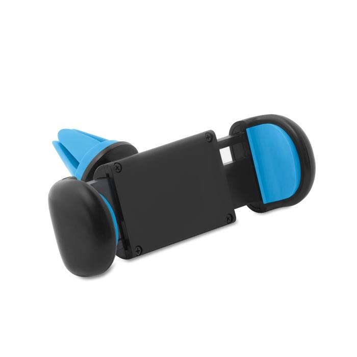 Objet publicitaire voiture - Support de téléphone pour voiture Flexi - bleu