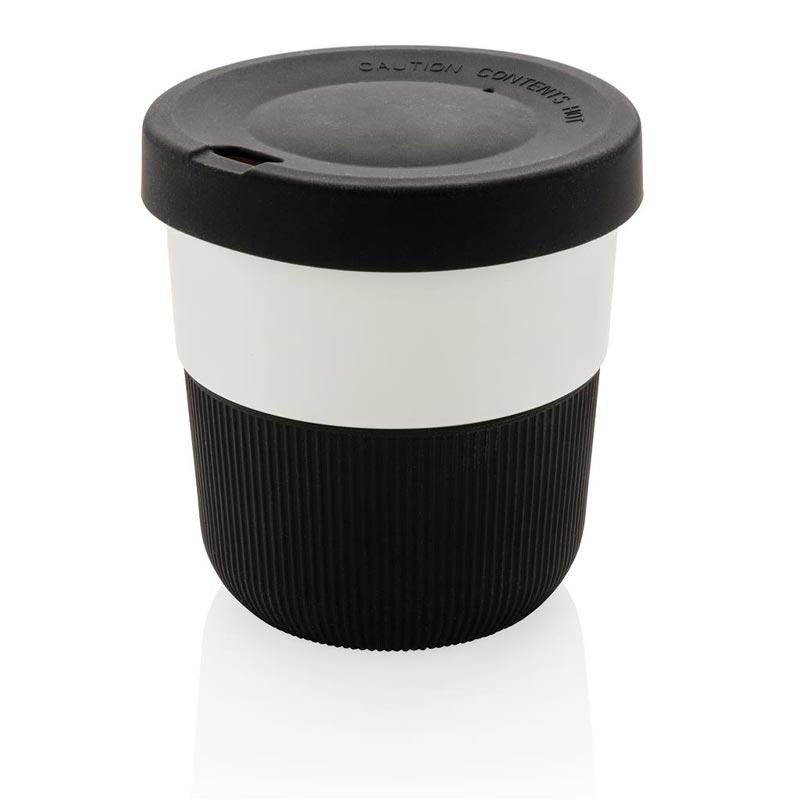 Mug de voyage publicitaire Ryoko en PLA - coloris noir
