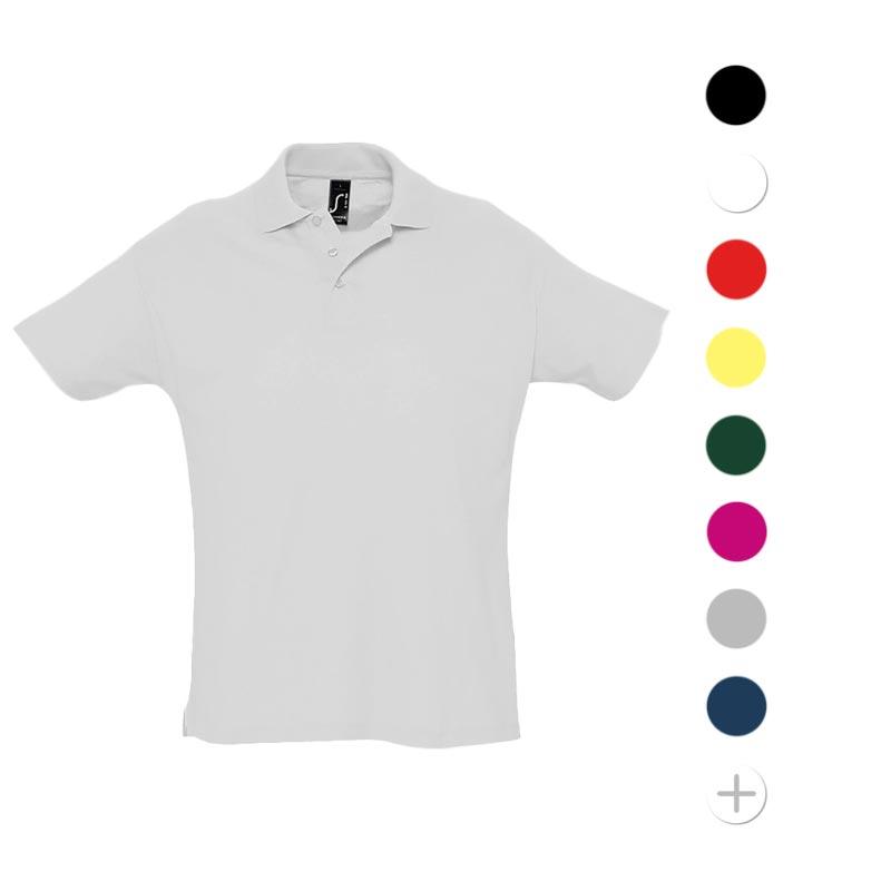 Polo en coton personnalisable Summer - coloris