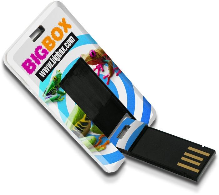 Clé USB 1 Go Carte Skinny -  Clé USB personnalisable
