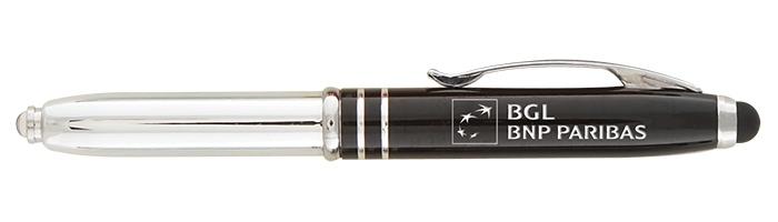 Stylo-stylet personnalisable Le Brando - cadeau publicitaire high-tech