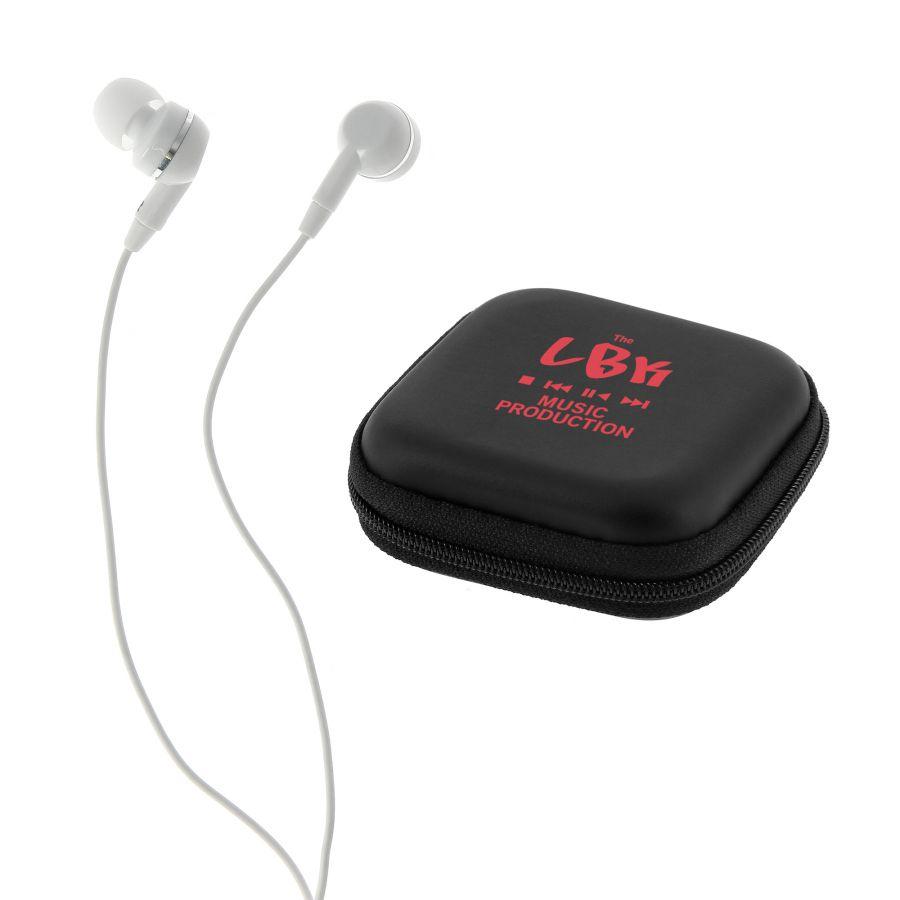 objet publicitaire high-tech - Écouteurs personnalisés Live in