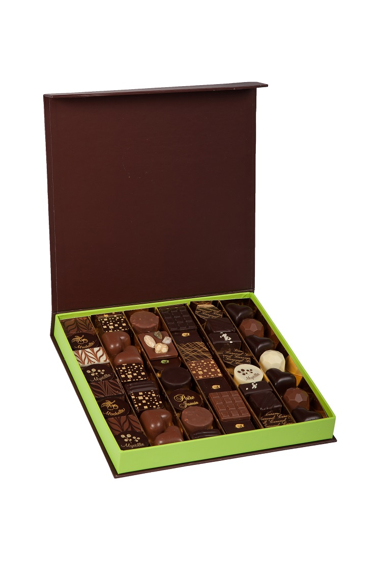 Cadeau d'entreprise - Coffret chocolats De Boissy 540 g