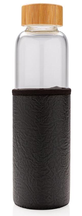 bouteille publicitaire en verre Textura