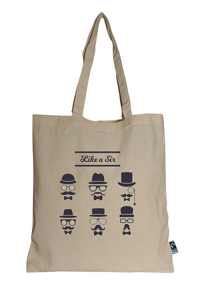 Tota bag personnalisable Bareli - sac coton équitable personnalisé