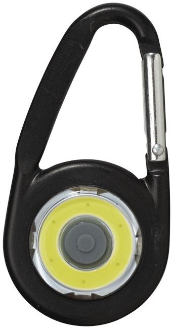 Mousqueton avec lampe publicitaire COB Eye - goodies
