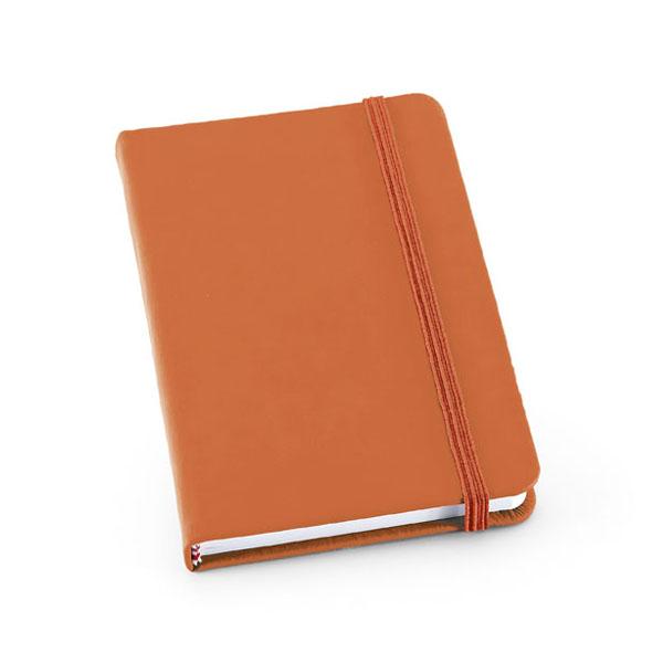 Carnet promotionnel Crop orange - carnet publicitaire
