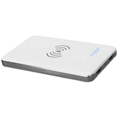 Powerbank publicitaire 4000 mAh Qi® sans fil - Cadeau d'entreprise