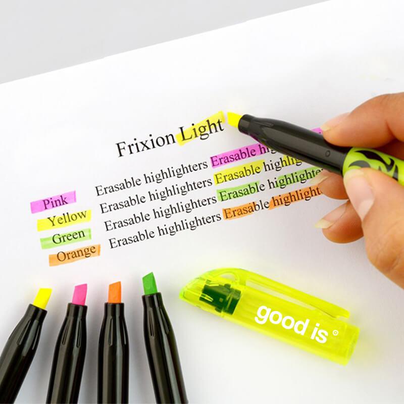 Surlignag de documents avec des stylos FriXion Light