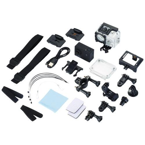 Caméra d'action publicitaire wifi 4K Portrait avec support pour casque