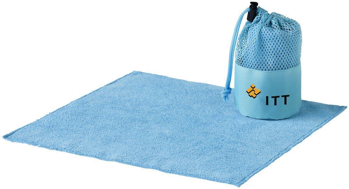 Serviette de nettoyage de voiture Diamond bleue