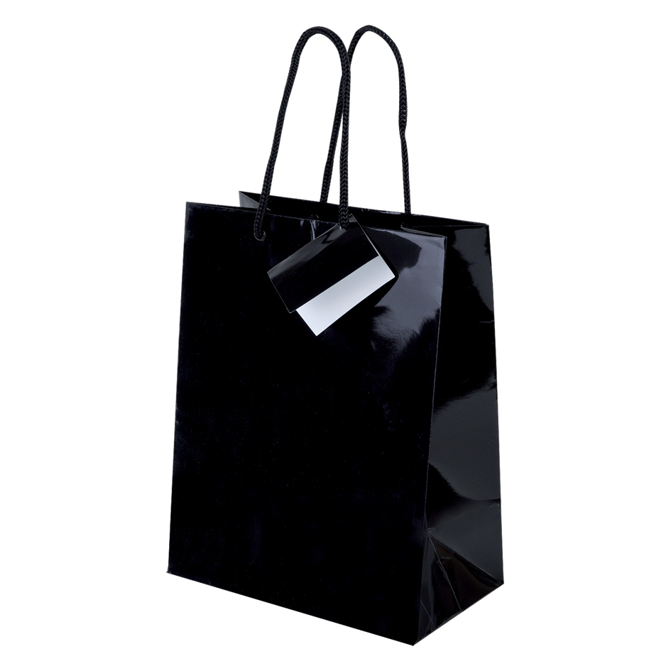 Sac shopping publicitaire Shiny - sac shopping promotionnel