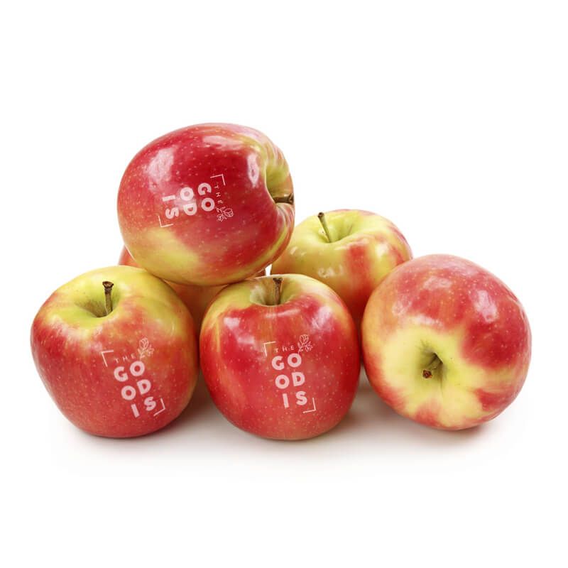 Goodies green - Pomme publicitaire