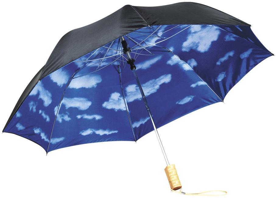 """Parapluie publicitaire automatique 21"""" Blue skies - cadeau publicitaire"""