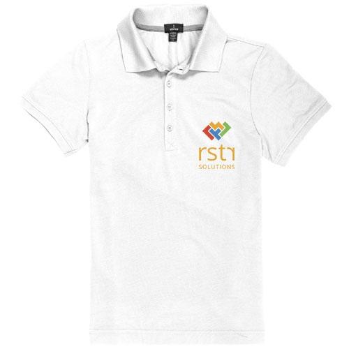 Polo pour femmes publicitaire Crandall - polo personnalisable protection UV