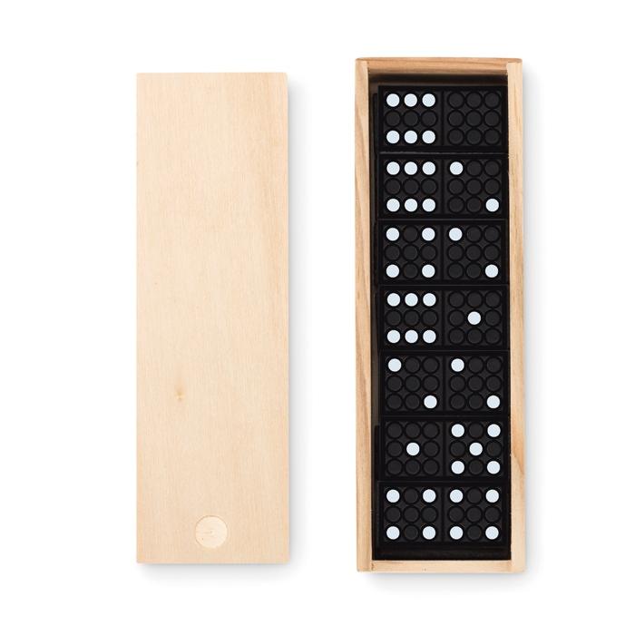 Goodies-Loisirs - Jeu de domino dans une boite personnalisable Domino