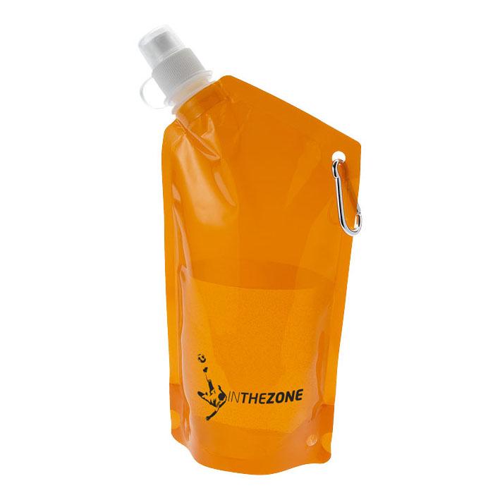 Objet publicitaire - Gourde promotionnelle poche à eau Cabo