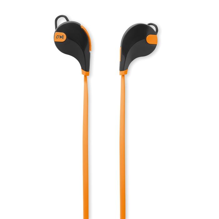 Cadeau publicitaire - Écouteurs publicitaires Bluetooth Rockstep - orange
